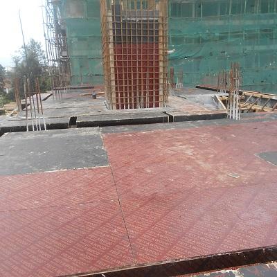 block b 3rd floor shattering